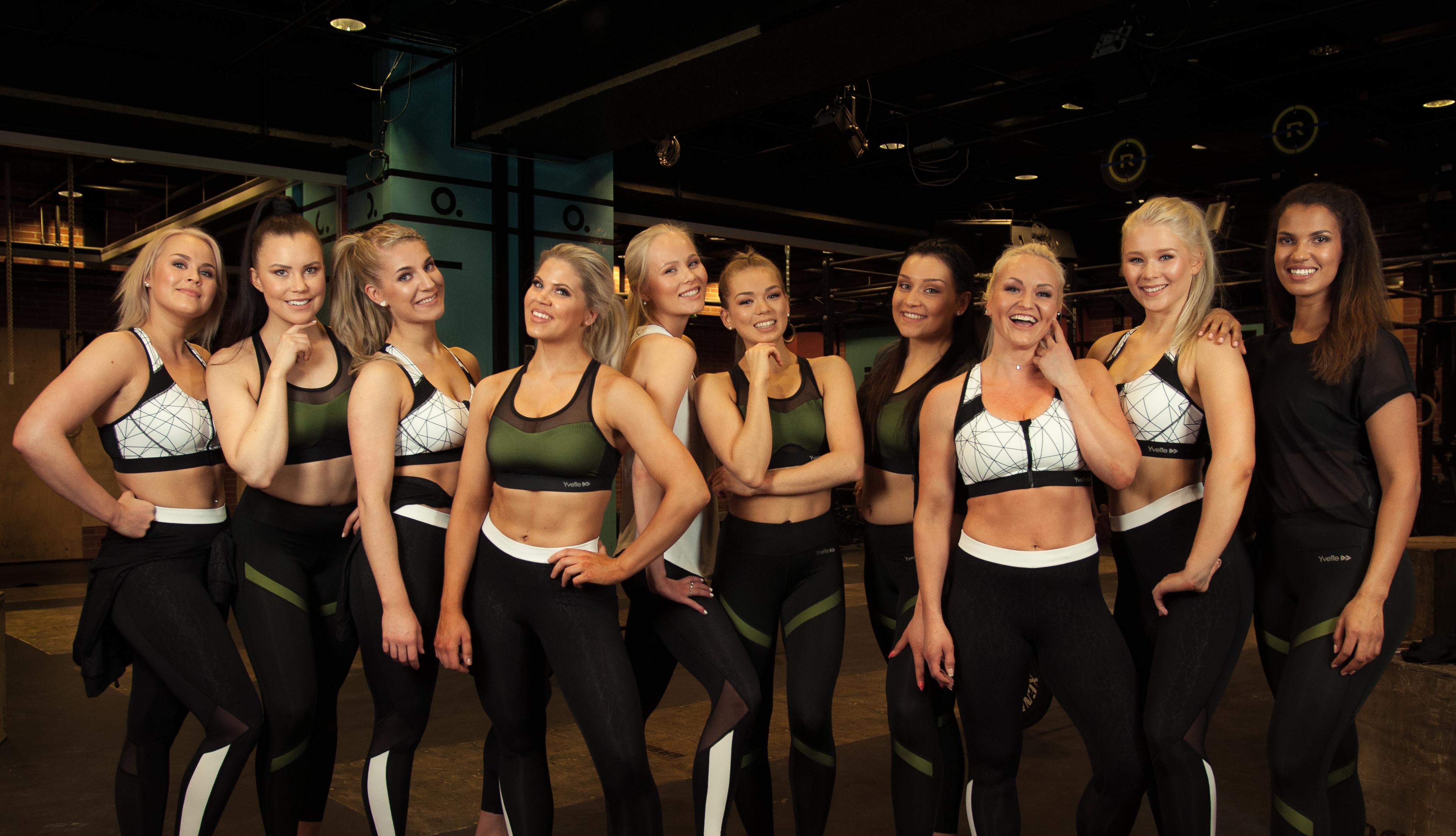 Tutustu Fitnessmalli 2018 -finalisteihin uusilla sivuilla!